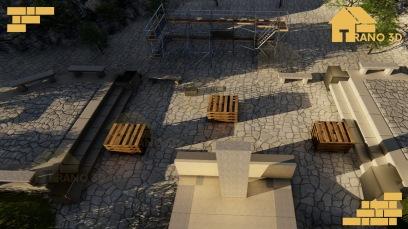 Jardin Andohalo en 3D