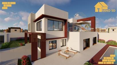 Maison contemporaine à Antananarivo